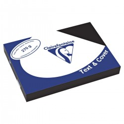 Trophee Text&Cover Clairefontaine Binding Covers A4 Linen Effect